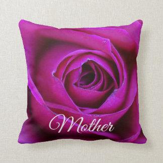 Rose Mother Throw Pillow