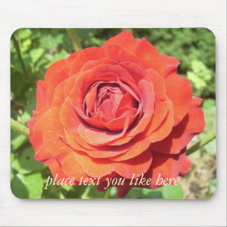Rose mouse pad  2