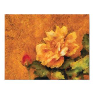 Rose - My little Buddy 11 Cm X 14 Cm Invitation Card