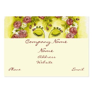 Rose Nymph Profile Card Business Cards