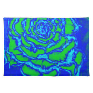 Rose of Blue Placemat