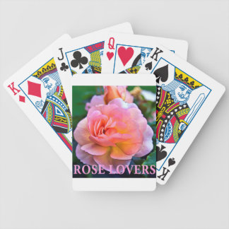 ROSE OF LOVER BICYCLE PLAYING CARDS