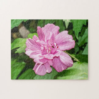 Rose of Sharon Blossom Puzzle