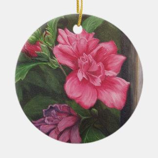Rose of Sharon Ornament