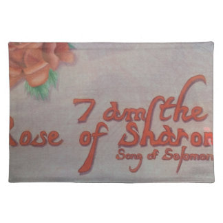 rose of sharon placemat