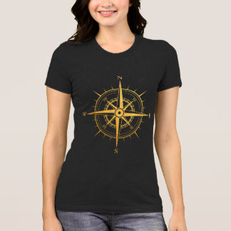 Rose of the Winds Compass Woman T-Shirt