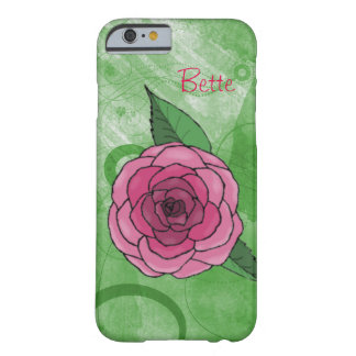 Rose On Green iPhone 6 Case