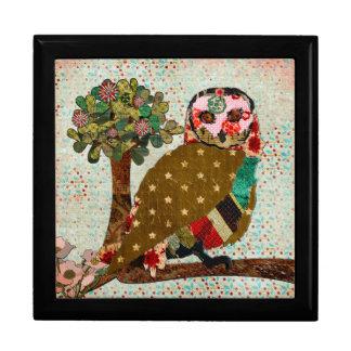Rose Owl Serenity Gift Box