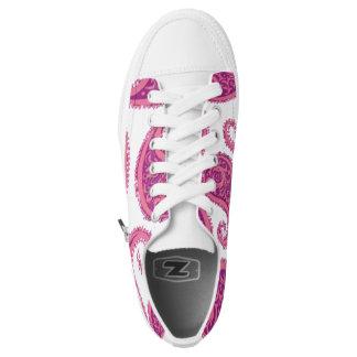 Rose Paisley Printed Shoes