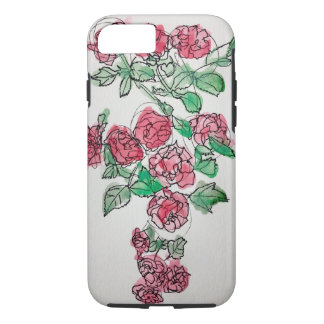 Rose patch iPhone 8/7 case