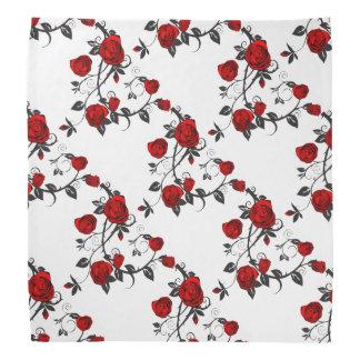 Rose Pattern Bandanna