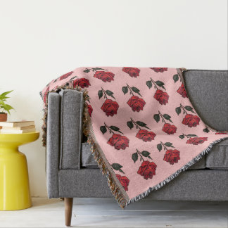 Rose Pattern Blanket