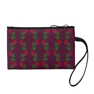 Rose Patterned Coin Purse