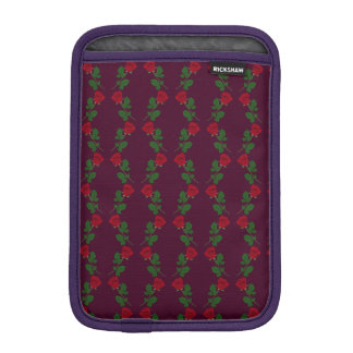 Rose Patterned iPad Mini Sleeve