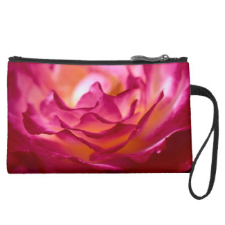 Rose Petal Clutch Wristlet