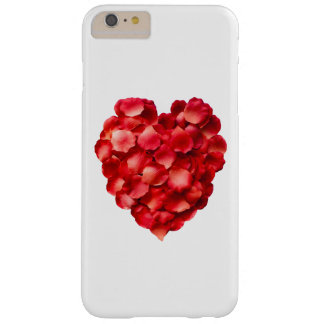 Rose Petal Heart Barely There iPhone 6 Plus Case