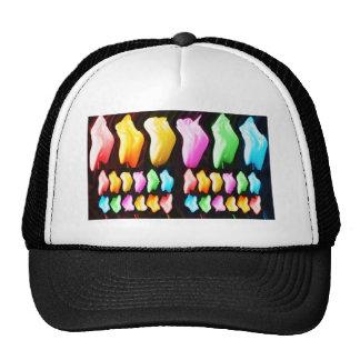 Rose Petal n Tulip Show Mesh Hat