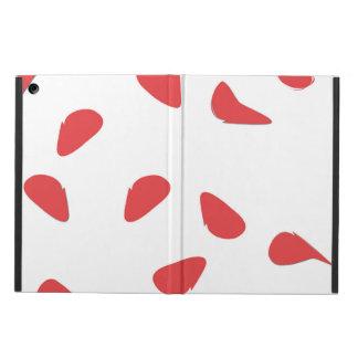 Rose petals iPad air cases