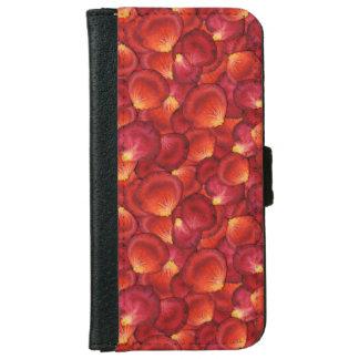 Rose Petals iPhone Wallet Case