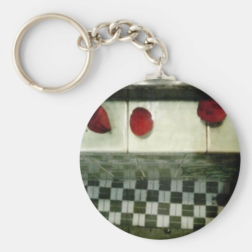 Rose Petals Keychain