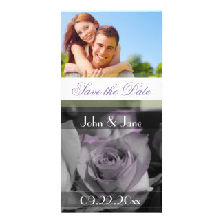 """Rose  /photo  """"Save the Date"""" Photo Card"""