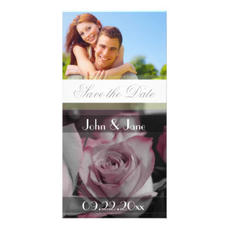 """Rose  /photo  """"Save the Date"""" Photo Cards"""