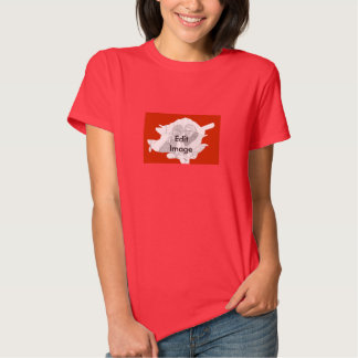 Rose Picture Border For The Romantics Red T-Shirt