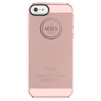 Rose Pink Clear iPhone 5/5s Case