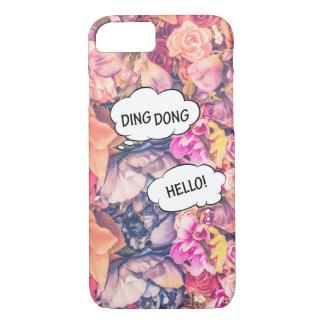Rose Pink Flower Comics Apple iPhone 7, Phone Case