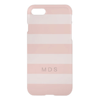 Rose Pink Stripe iPhone 8/7 Case
