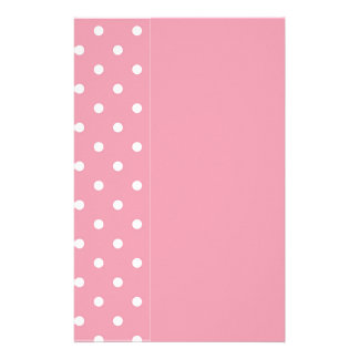 Rose Pink Template Stationery Design