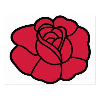 Rose Postcard