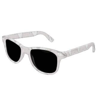 Rose Quartz and Silver Sunglasses