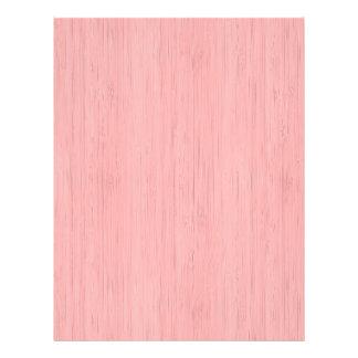 Rose Quartz Bamboo Wood Grain Look 21.5 Cm X 28 Cm Flyer