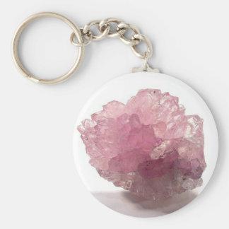 Rose Quartz Bliss Travelers Key Ring