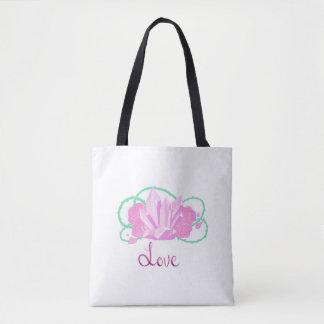 Rose Quartz Custom Tote Bag