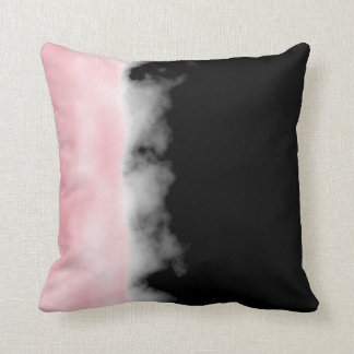 Rose Quartz Pink Druzy Geode Slice Crystal Art Cushions
