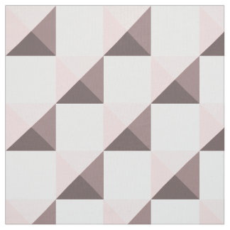 Rose Quartz Pink Pyramid Illusion Fabric