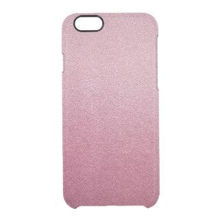 Rose Quartz Pink Shine Clear iPhone 6/6S Case