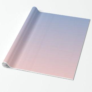 Rose Quartz Serenity Gradient Wrapping Paper