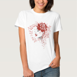 Rose Red Tee Shirt