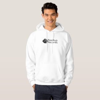 Rose Rock Records Mens Hoodie
