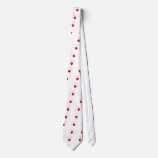 rose rouge ET décolleté - network rose - pink red Tie