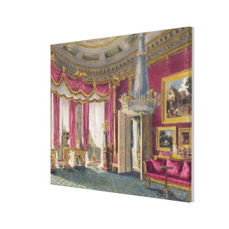 Rose Satin Drawing Room (second view) Carlton Hous Canvas Prints