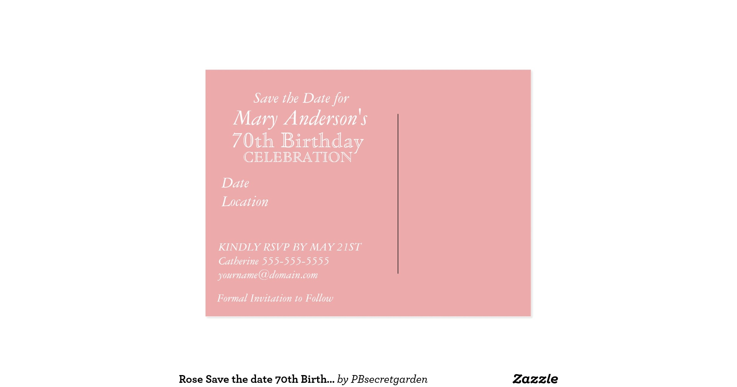 Birthday Save The Date Cards design templates icons star icon