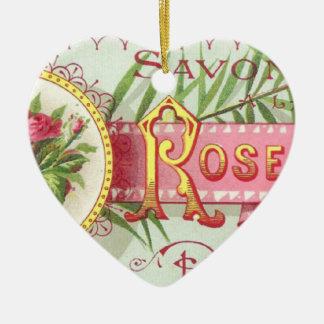 Rose Savon Ornament