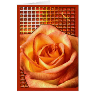 Rose Scent Card