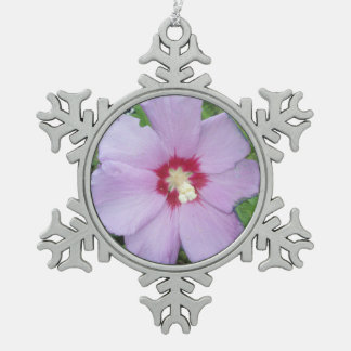 Rose Sharon Purple Red Ornaments