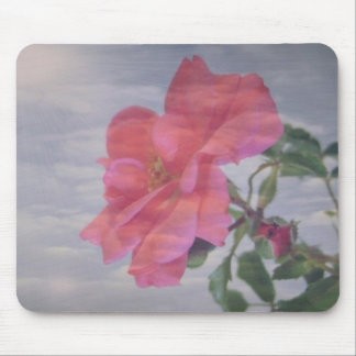 Rose Sky Mouse Pad