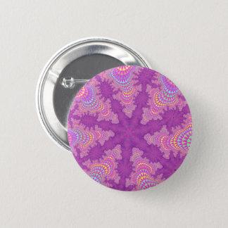 Rose Starburst Button